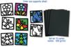Papier vitrail - 10 couleurs assorties - Papier Vitrail – 10doigts.fr