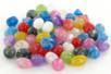 Perles aspect marbré - 50 perles - Perles acrylique - 10doigts.fr