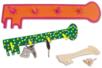 Kit porte-clés - 12 réalisations - Kits Supports et décorations - 10doigts.fr