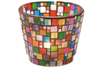 Mosaïques en résine acrylique camaïeux opaques brillants marbrés rouge - Mosaïques résine acrylique – 10doigts.fr