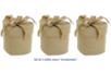 Boîtes cœur enrubannées - Set de 3 - Boîtes à bijoux – 10doigts.fr