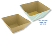 Corbeille vide-poches en papier mâché - Paniers, plateaux en carton – 10doigts.fr