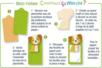Mouton en bois naturel - Motifs bruts – 10doigts.fr