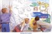 Fresques murales à colorier  - 10doigts.fr