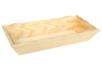 Corbeille rectangle en bois - Paniers en bois – 10doigts.fr