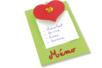 Mémos cœurs - Kit pour 12 réalisations - Supports plats – 10doigts.fr