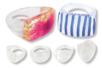 Bagues transparentes à décorer - 5 pièces - Bagues – 10doigts.fr