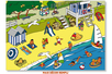 Stickers scène de vie La plage - Gommettes stickers + maxi décor – 10doigts.fr