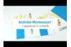 Activité Montessori : J'apprends à compter - Activités enfantines – 10doigts.fr