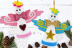Cônes en polystyrène pour fabriquer des personnages - Formes à décorer – 10doigts.fr