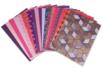 Papiers Indiens,Collection Punjab, - 20 feuilles artisanales - Papier artisanal naturel – 10doigts.fr