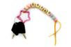 Perles alphabet en bois - 100 perles - Perles Alphabet – 10doigts.fr