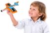 Avions à décorer et à faire planer - Lot de 3 - Support blanc - 10doigts.fr