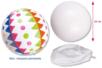 Ballon blanc à décorer - Supports blancs – 10doigts.fr