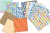 Bloc papiers de scrap Voyage - 180 feuilles - Nouveautés – 10doigts.fr