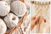 Fils pour macramé - 100 % coton naturel - Fils – 10doigts.fr