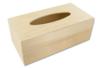 Boîte à mouchoirs rectangulaire en bois - Boîte à mouchoirs - 10doigts.fr