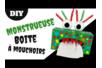 Boite à mouchoirs Monstre rigolo - Tutos Halloween – 10doigts.fr