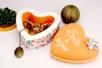 Boîte coeur en polystyrène 14 cm - Boîtes à bijoux – 10doigts.fr