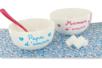 Bols à céreales en porcelaine blanche - Déco de la maison – 10doigts.fr