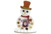 Cadre en bois bonhomme de neige - Supports de Noël – 10doigts.fr