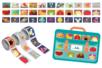 Bons points adhésifs - 425 stickers (3 rouleaux) - Gommettes Histoires et décors – 10doigts.fr