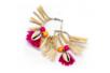 Boucles d'oreilles créoles argentées - Lot de 4 - Boucles et pendentifs d'oreilles – 10doigts.fr