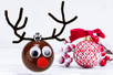 Boule de Noël Renne - Noël – 10doigts.fr