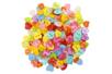 Boutons coeurs multicolores - Set de 200 - Boutons - 10doigts.fr