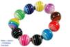 Bracelet perles bayadères - Bijoux – 10doigts.fr