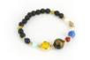 Perles de lave rondes  - Perles Lithothérapie – 10doigts.fr