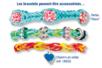 Bracelets élastiques LOOM - Kit de 12 bracelets - Kits bijoux – 10doigts.fr
