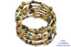 Bracelets en perles de rocaille, camaïeu doré - Bijoux – 10doigts.fr