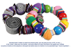 Bracelets ou colliers avec des pompons perles - Tutos créations de Bijoux – 10doigts.fr