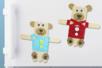 Magnets oursons avec des bâtonnets en bois - Animaux – 10doigts.fr