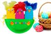 Poussins de Pâques dans leur nid - Pâques – 10doigts.fr