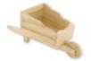 Brouette en bois naturel - Corbeilles et paniers – 10doigts.fr