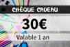 Chèque cadeau 30€ - Chèques Cadeaux – 10doigts.fr