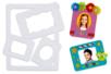 Cadres en carton blanc formes assorties - Set de 48 - Cadres en carton – 10doigts.fr
