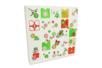 Calendrier de l'avent en carte forte blanche à décorer et à remplir - Calendrier de l'avent – 10doigts.fr