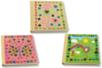 Carnets kraft déco stickers mosaïques - Décoration d'objets – 10doigts.fr