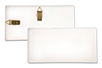 Plaque rectangulaire en terre cuite blanche - Supports en Céramique et Terre Cuite - 10doigts.fr