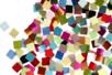 Mosaïques en film plastique - Couleurs assorties - Mosaïques plastique – 10doigts.fr