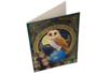 Broderie diamant Hibou - Carte 21 x 29 cm - Broderie Diamant – 10doigts.fr