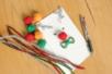 Chenilles couleurs métallisées assorties - Chenilles, cure-pipe – 10doigts.fr