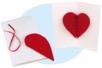 Carte Pop-up Coeur 3D - Cartes et poèmes de fêtes – 10doigts.fr