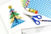 Carte sapin origami 3D - Carterie – 10doigts.fr