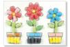 Cartes à décorer pour flocons de maïs - set de 12 - Flocons de maïs – 10doigts.fr