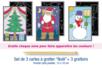 """Cartes à gratter """"Noël"""" - 3 cartes - Carte à gratter - 10doigts.fr"""