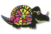 Set de 5 dinosaures en carte à gratter + 5 grattoirs - Activités enfantines – 10doigts.fr